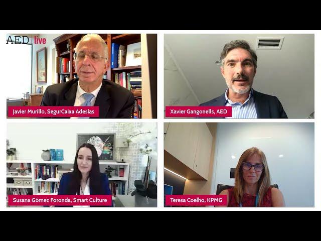 La salud de los directivos españoles durante la pandemia, presentación de estudio (AED)