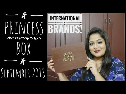 Princess Box September 2018 |ABH|Bath&Body Works |Bh cosmetics | Unboxing and Review