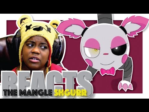 The Mangle Song | Shgurr Reaction | FNAF Animation | AyChristene Reacts