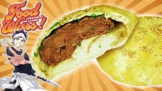 Shokugeki No Soma HU JIAO BING (Panecillos rellenos de carne) de Food Wars!!