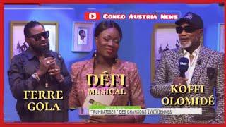 Koffi Olomidé chante Ferre Gola Regarde Moi un défi dans Life Week-end à Abidjan ! Konnie Touré