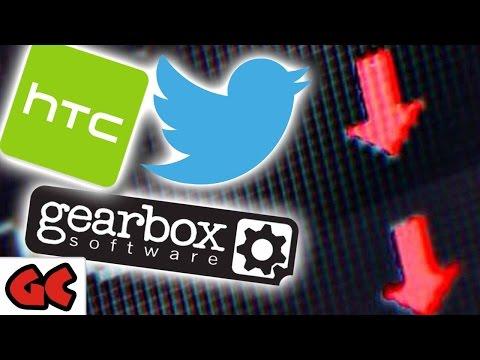 Gearbox, Twitter & HTC vor dem Aus?  // Harvest Moon auf der PS4
