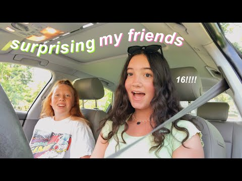Surprising My Friends With My License!! + Driving Alone For The First Time
