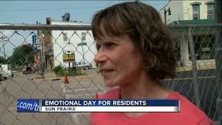 Sun Prairie residents visit site of explosion