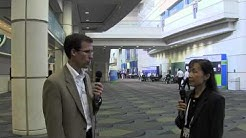President of Clean Energy Collective, Paul Spencer, at Solar Power International 2012 in Orlando, FL