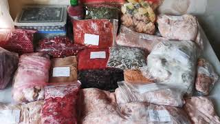 Заготовка продуктов на зиму, хранение овощей и фруктов в морозилке.