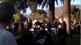 Veterans Day in San Jacinto California Nov 11, 2013