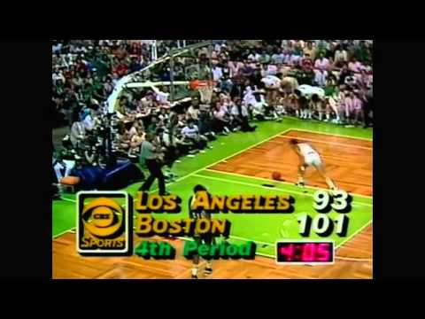1984 NBA Finals - Los Angeles vs Boston - Game 7 Best Plays