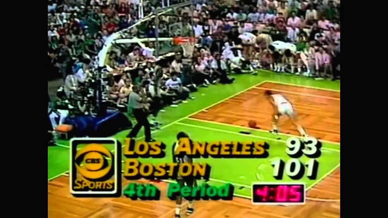 1984 NBA Finals - Los Angeles vs Boston - Game 7 Best Plays - YouTube