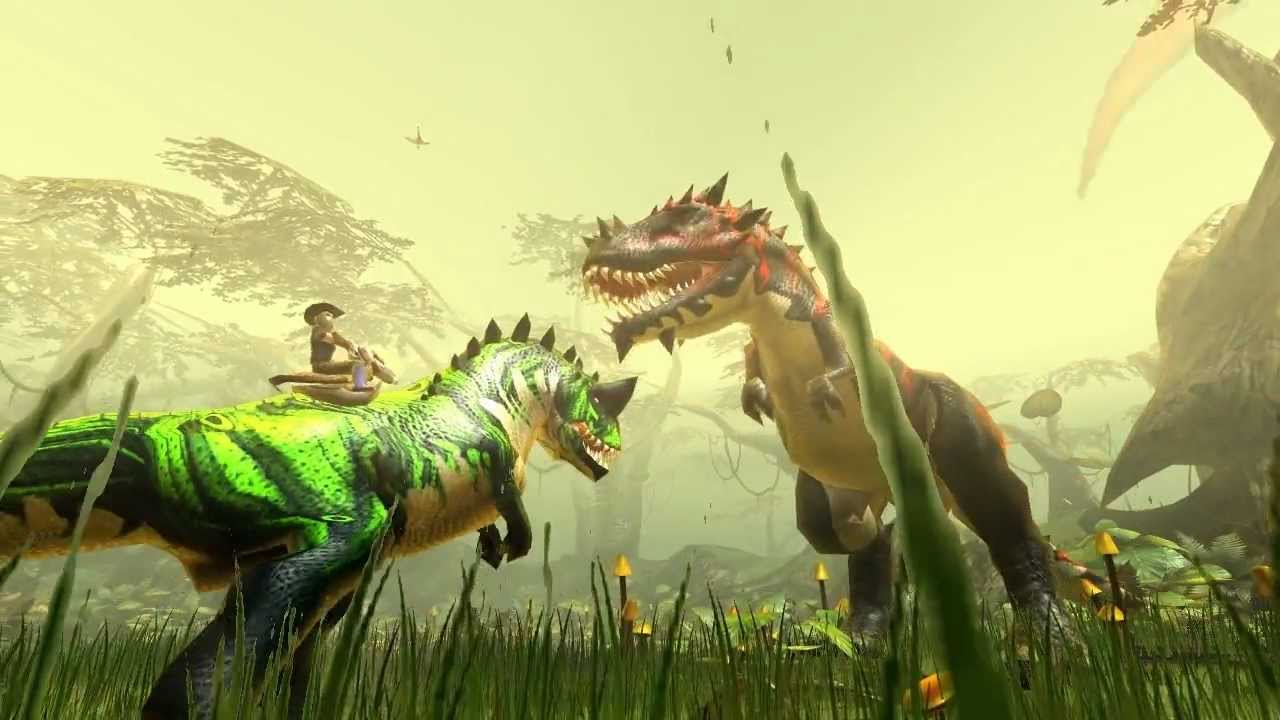 Dino Storm - The online game with cowboys, dinos & laser guns