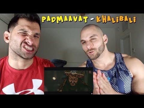 Padmaavat: Khalibali - Ranveer Singh  Deepika Padukone REACTION