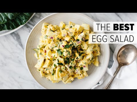 EGG SALAD | How To Make The BEST Egg Salad Recipe + Collard Wrap