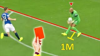 LOVE STORY Of Goalkeepers & Red Cards