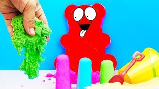 KINETIC SAND AND JELLY THE BEAR VALERA