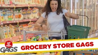 Grocery Store Pranks - Best of Just For Laughs Gags