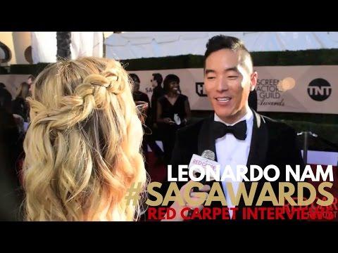 Leonardo Nam Westworld ed on the 23rd Screen Actors Guild Awards Red Carpet SAGAwards