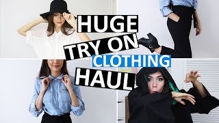 HUGE TRY-ON CLOTHING HAUL!