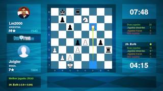Chess Game Analysis: Joigler - Lm2000 : 1-0 (By ChessFriends.com)