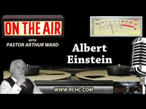 Albert Einstein ~~ Radio Broadcast
