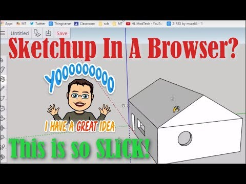 Sketchup via the browser! Check out how slick this is!