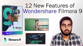 12 New Features of Wondershare Filmora 9 - New Released - Overview Tutorial