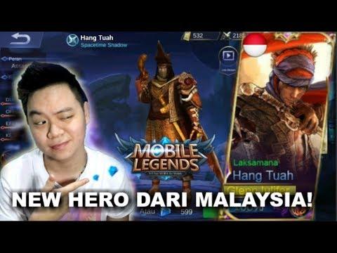 NEW HERO HANG TUAH! HERO DARI MALAYSIA CUY!!! - Mobile Legends