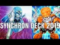 Yugioh Synchron Deck 2019! W/Lefty & Righty Driver!