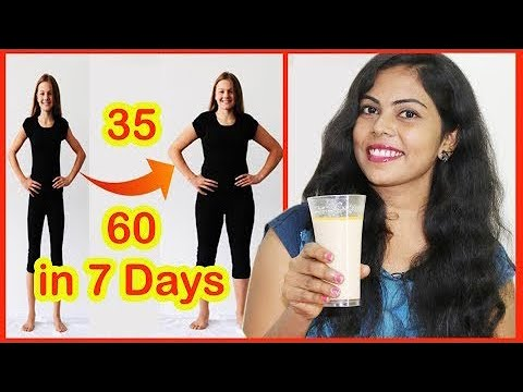 How To Gain Weight In 7 Days  Tamil Beauty Tips For Fast Weight Gain At Home Tamil Beauty Tips