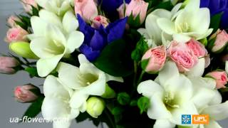 Beautiful bouquet - flower delivery worldwide ua-flowers.com