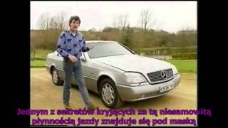 Old Top Gear PL - Mercedes-Benz CL C140 SEC
