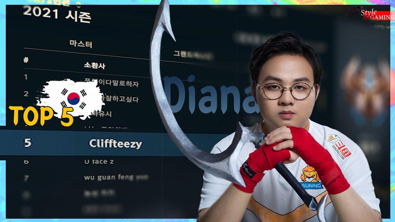 💢SofM leo top - Rừng cầm Diana cày nát rank Hàn | TOP Rank 5 Kr