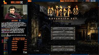 Diablo 2 - Any% Sorc 69 Minute Speedrun Attempts (12/13/2018)