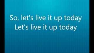 Owl City - Live It Up LYRICS