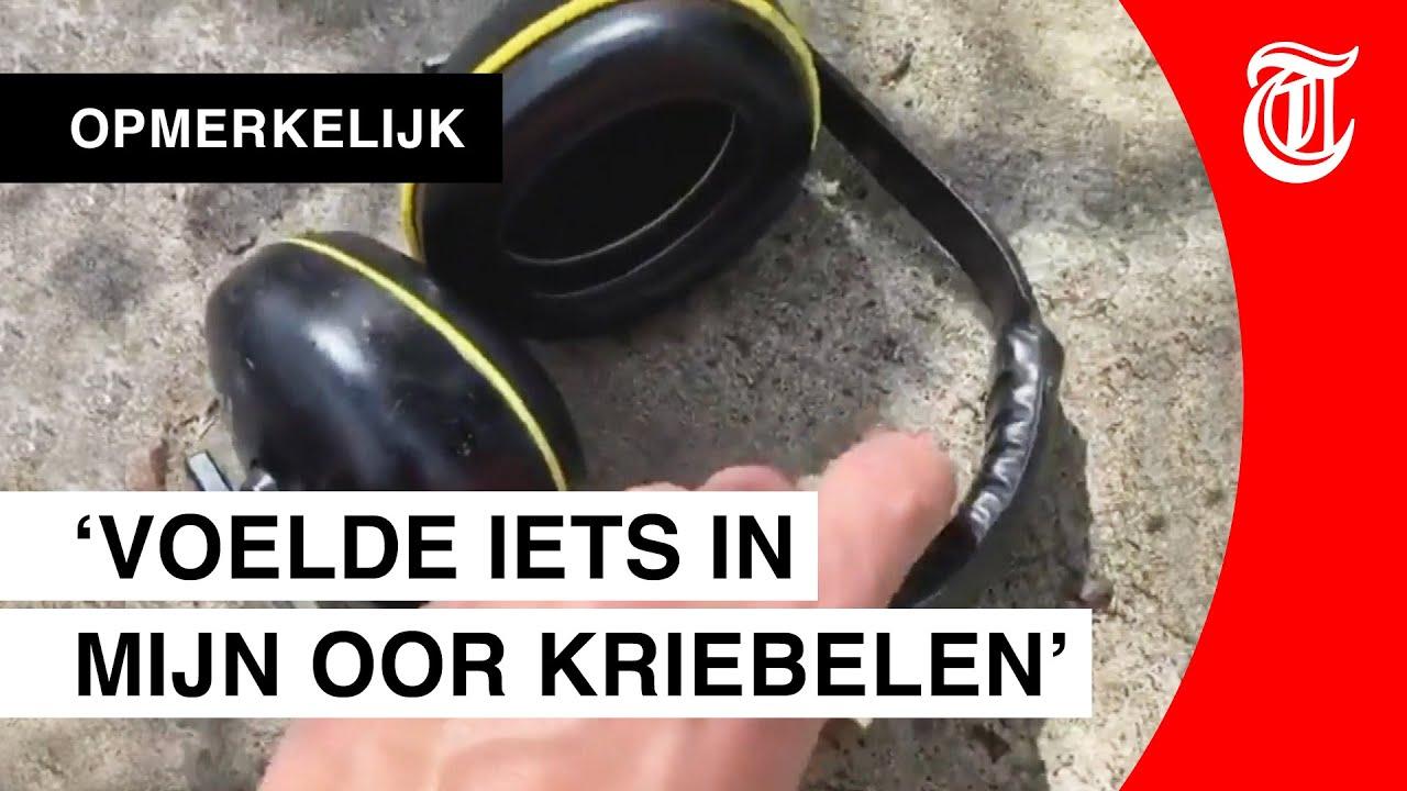 Man doet schokkende ontdekking in koptelefoon