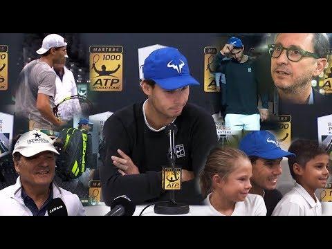 Rafael Nadal at Paris Masters, 3 Nov 2017