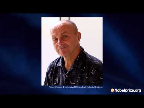 Interview: Eugene F. Fama, 2013 Prize in Economic Sciences