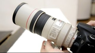 Canon 300mm f/4 IS USM 'L' lens review with samples (Full-frame and APS-C)