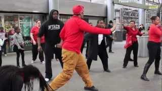 Expressing Boston - Project HIP-HOP cultural flash mob