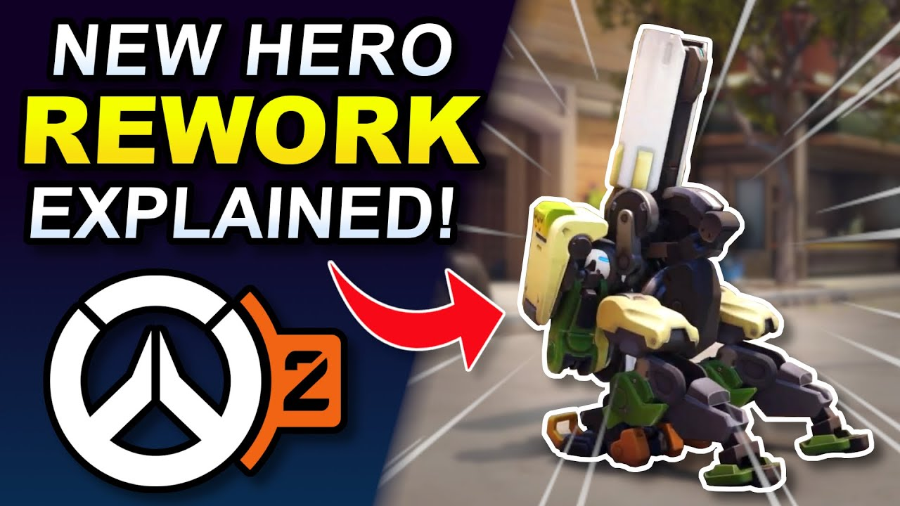 Download Overwatch 2 - CRAZY New Bastion & Sombra Reworks Explained!