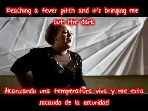 Adele - Rolling in the deep (Ingles - Español)