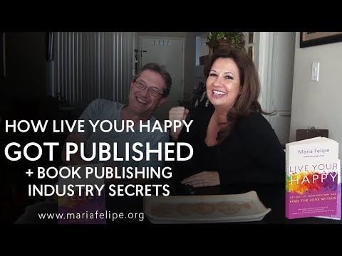 How LiveYourHappy (my book) got published + SECRETS in Publishing Industry