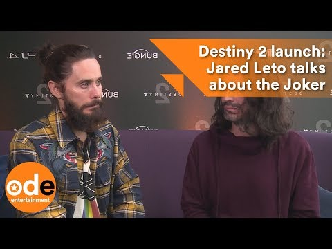 Destiny 2 launch: Jared Leto talks about the Joker