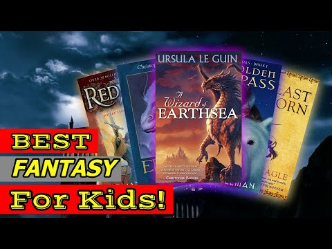 Best Fantasy Books For Kids/Young Teens!