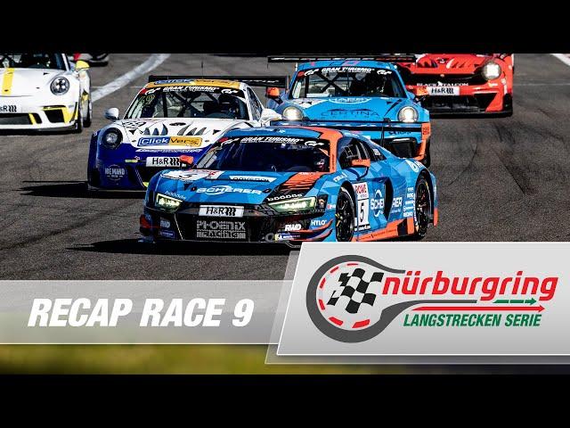 Recap Rennen 9 Nürburgring Langstrecken-Serie (NLS)