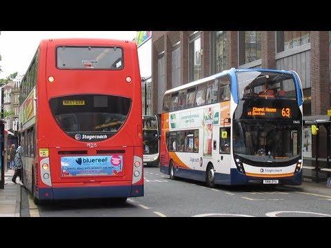 Buses Trains Metro & Ferry in Tyne & Wear July 2018