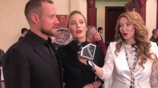 Елена Летучая с мужем на премии Moda Topical