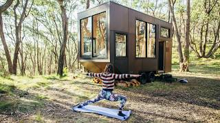 Eco-Friendly Off-Grid Tiny House for those who Love Sustainable Living