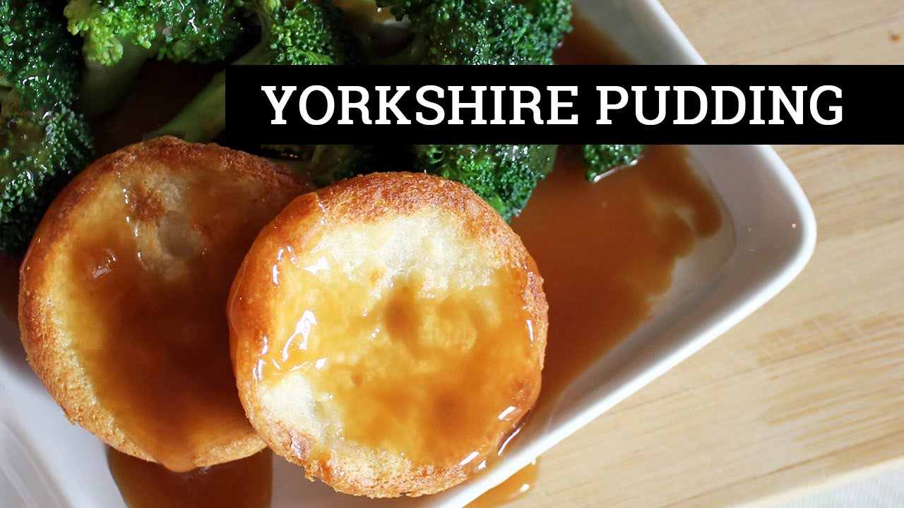 How to Make Yorkshire Pudding VEGAN | Mary's Test Kitchen