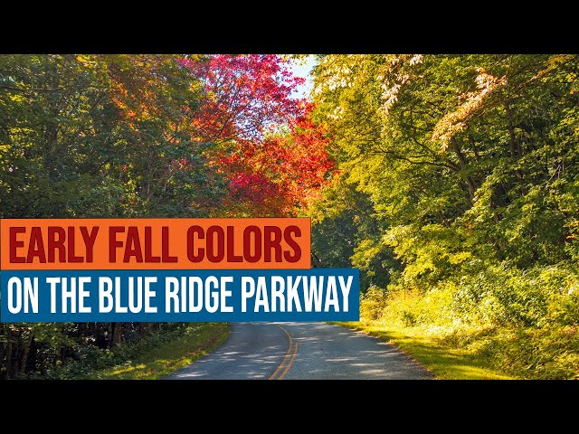 Early Fall Colors on the Blue Ridge Parkway in NC