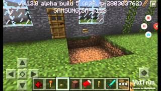 Minecraft pe kapı zili yapımı
